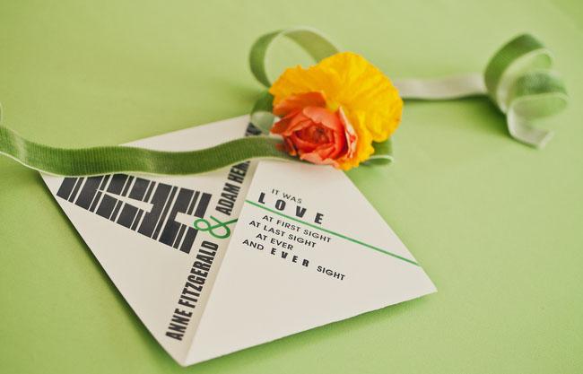 Typography Wedding Inspiration Green Wedding Shoes