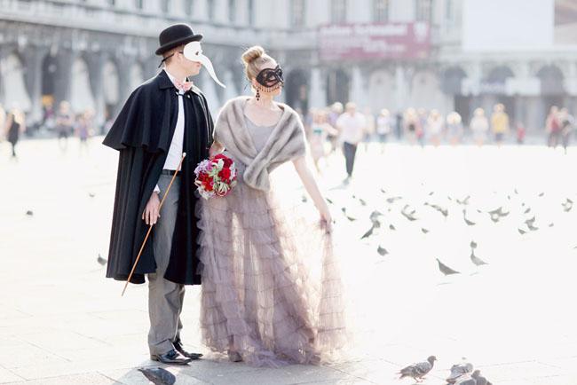 venetian masks, venice birds