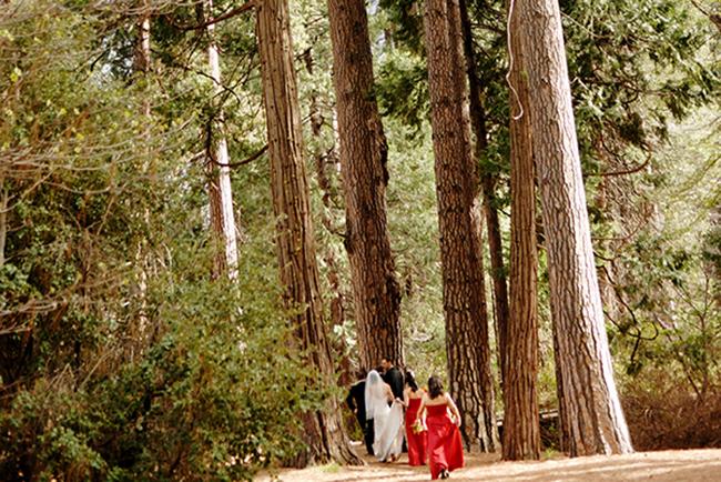Yosemite National Park Green Wedding Shoes