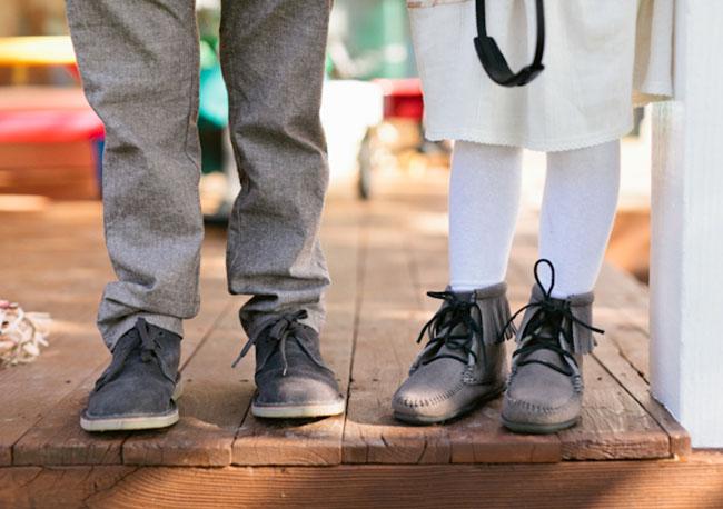 ring bearer and flower girl shoes