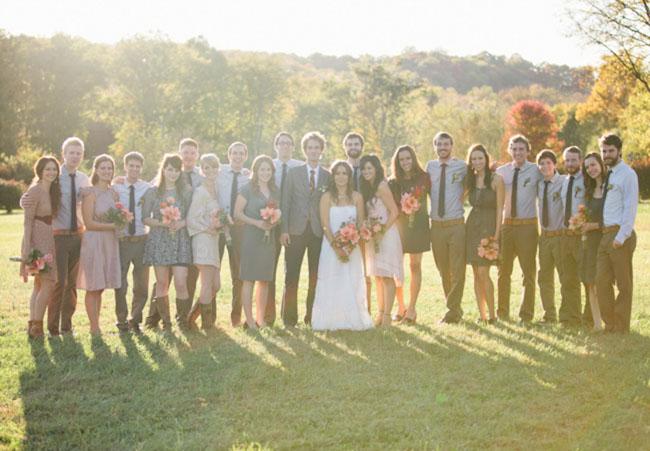 nashville wedding party