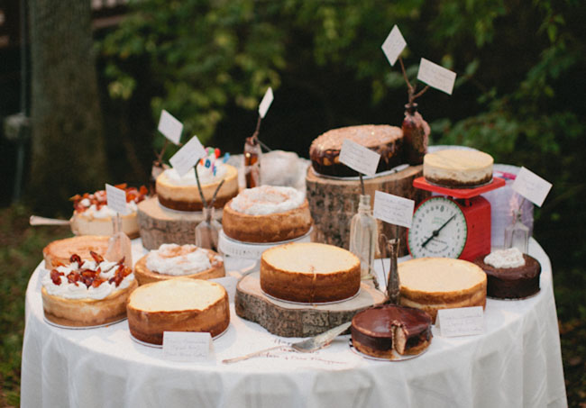 pie stand for wedding
