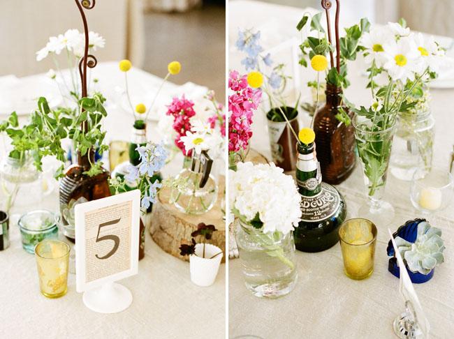 old bottles vases