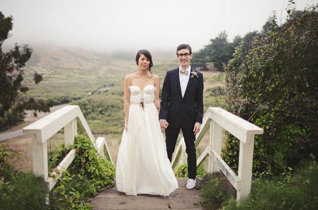 af613a3791011 A Marin Headlands Wedding: Melissa + Mike - Green Wedding Shoes