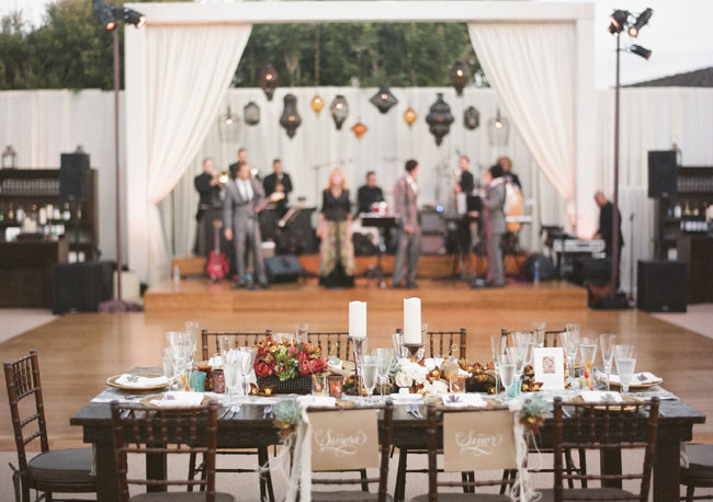 tablescape reception
