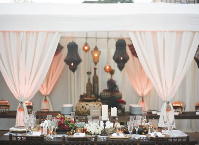 morocan wedding decor