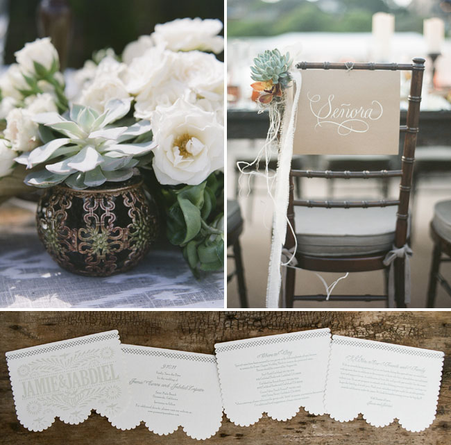 scalloped edge invites