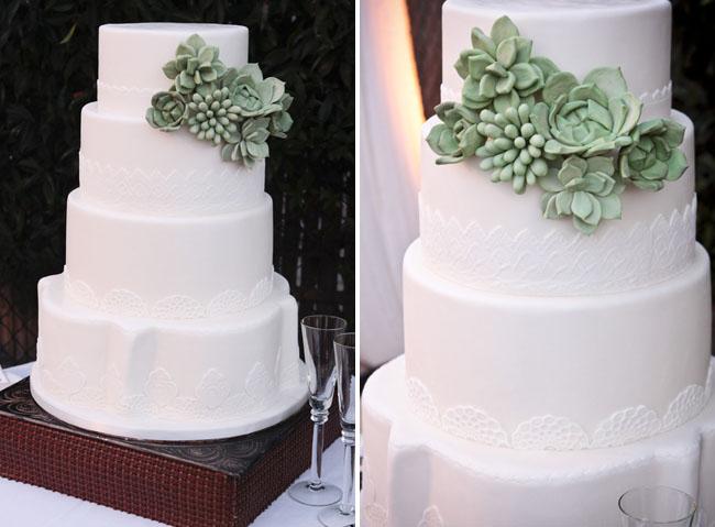 succulent side cake