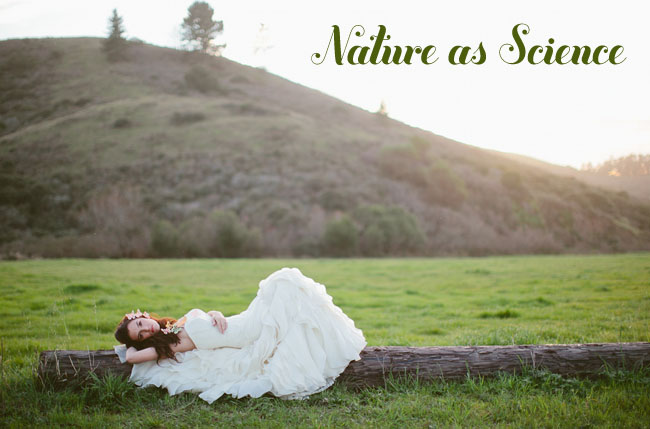 nature as science styled shoot