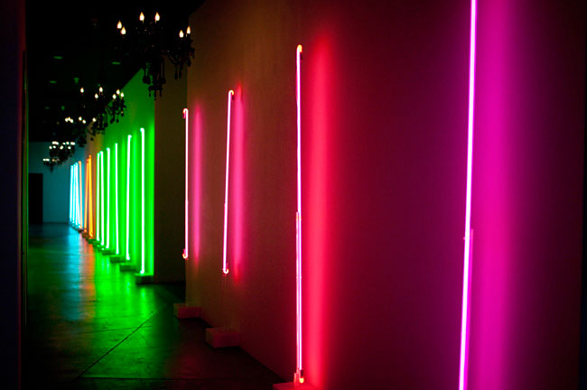 neon wall