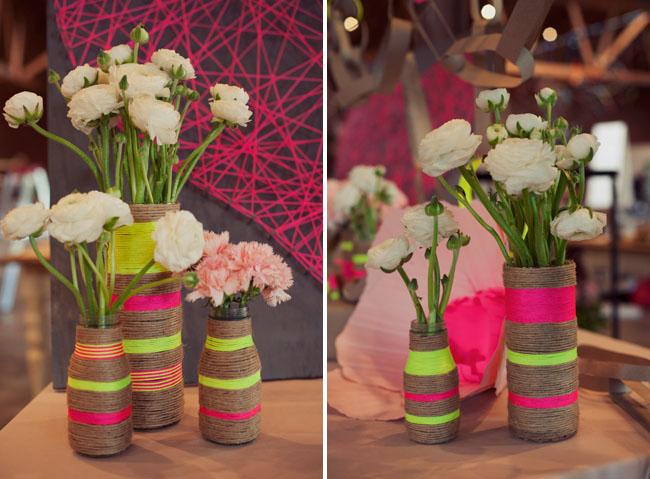 Сделать вазу своими руками для цветов