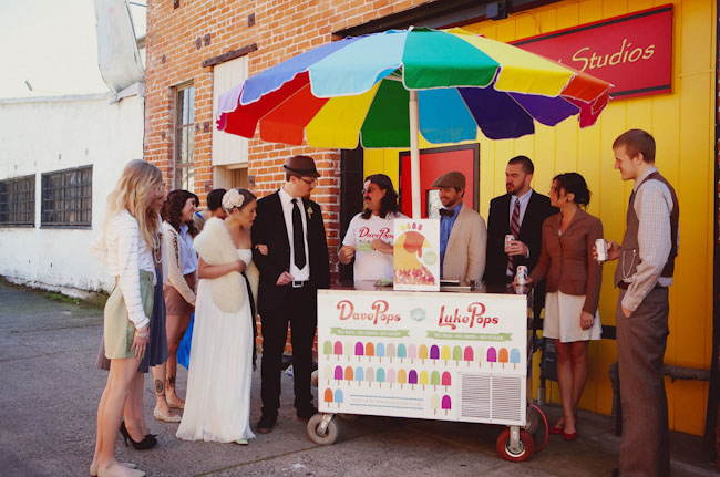 popsicle wedding