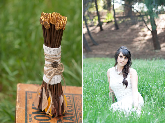 hunger games arrow bouquet