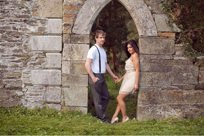ireland castle engagement
