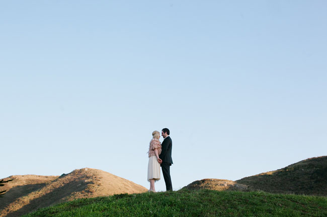 kiss on a hill