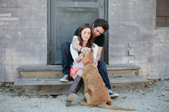 lee dewyze engagement puppy