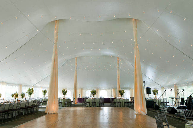 tent reception