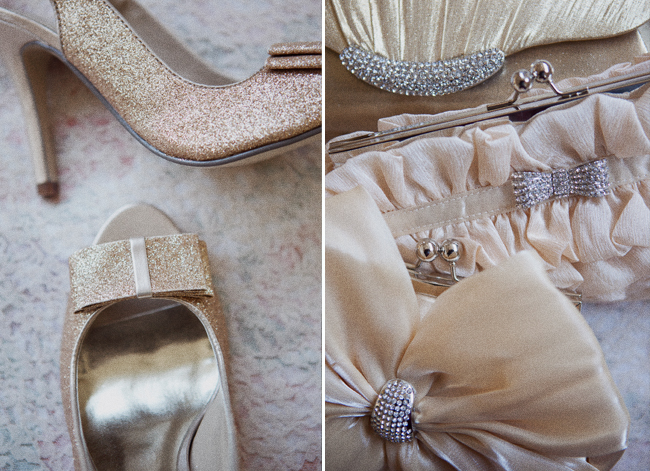 ruche wedding shoes