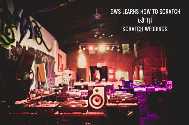 DJ your wedding with Scratch Weddings