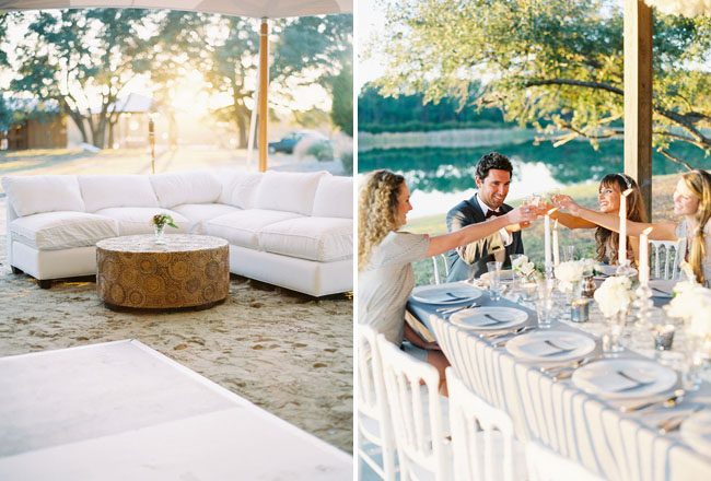 lounge area wedding