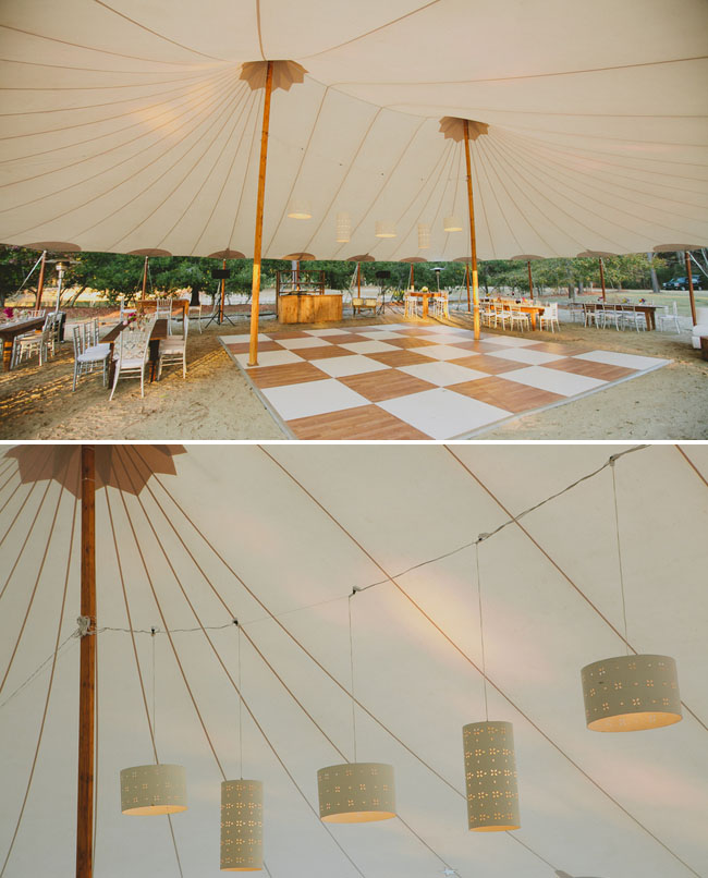 southern wedding tent