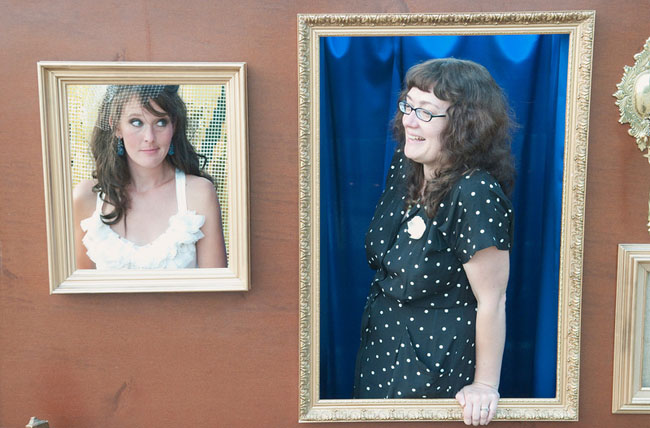 picture frame photo booth