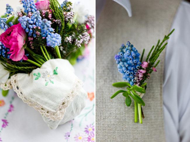blue bell bouquet