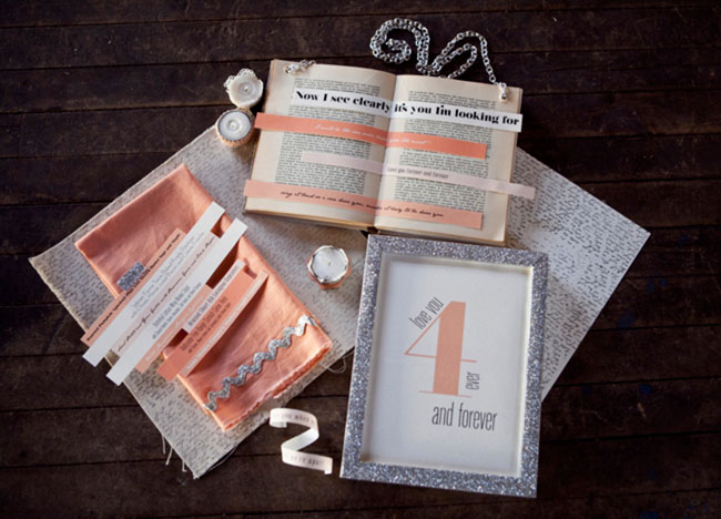 cut-out words invitation inspiration