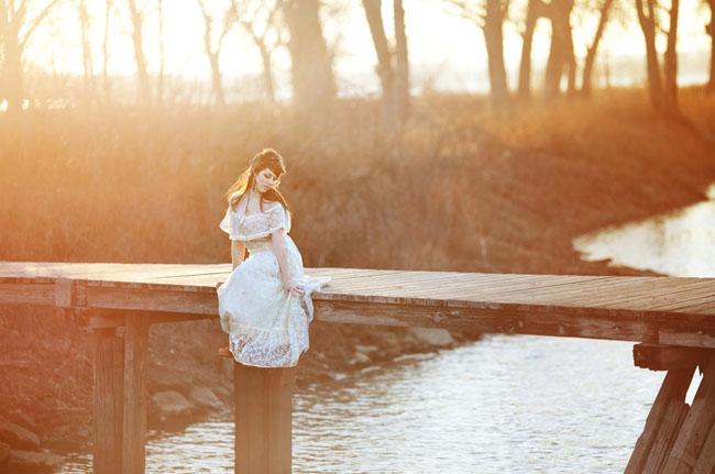 bridal session lake