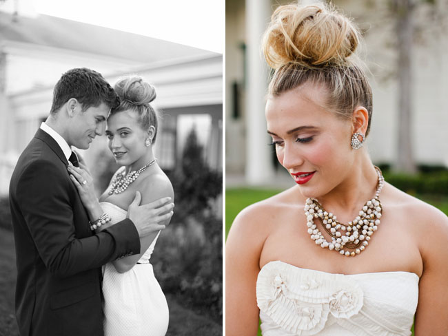 Layered Chunky Bridal Necklace