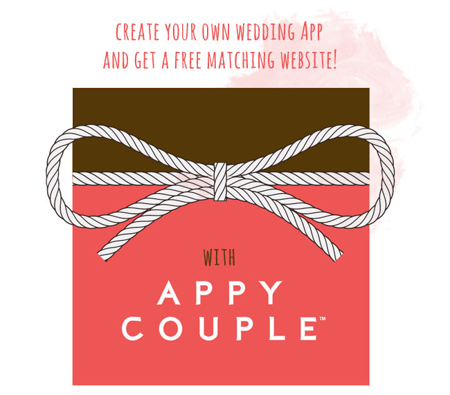 Create your own wedding app with appy couple green wedding shoes appy couple junglespirit Choice Image