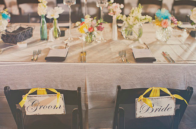 mr and mrs chair signs