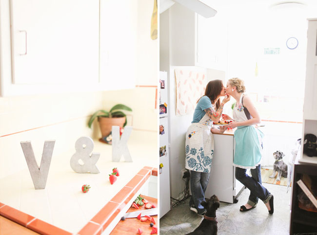 breakfast engagement photos