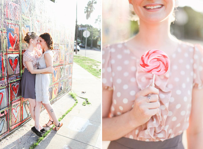 engagement photos in silverlake