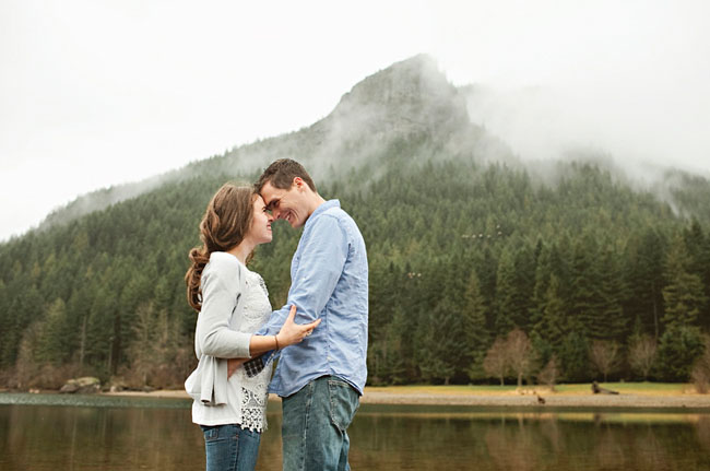 lake mountain engagement
