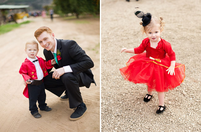 flower girl and ring bearer circus