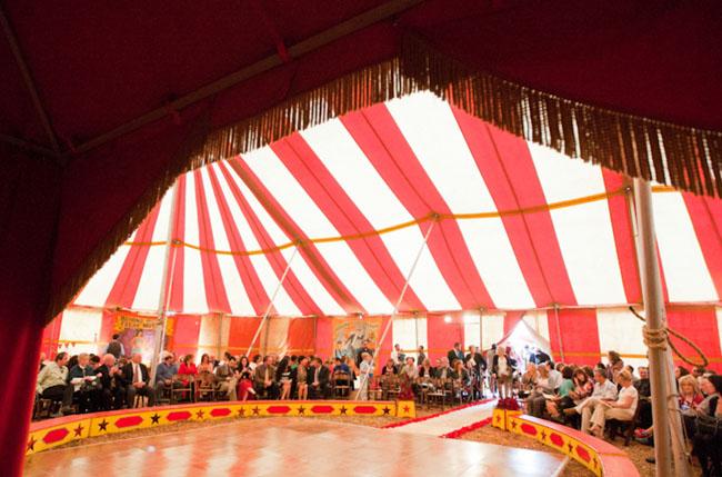 Vintage Circus Wedding Stacey Josh