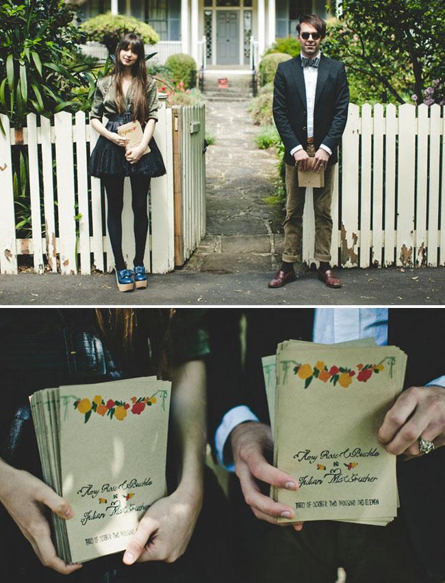 wedding programs