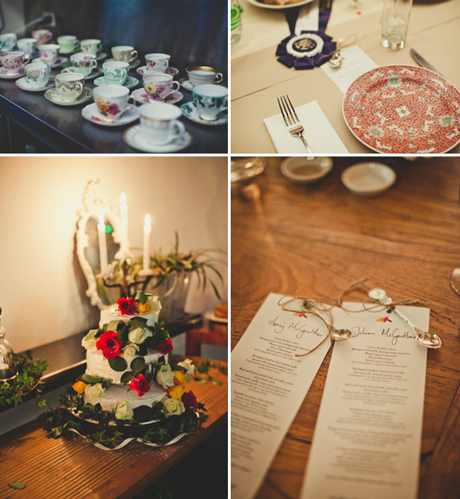 teacup wedding decor