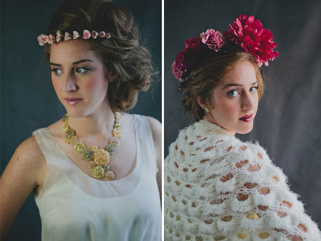 floral crowns wedding