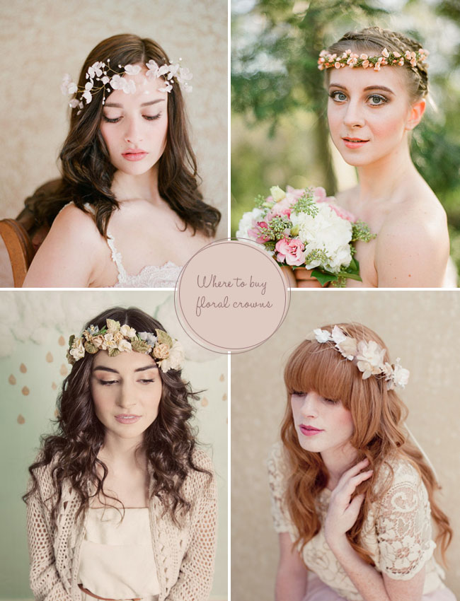 floral crowns for your wedding day