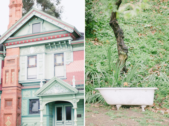 vintage house, old tub