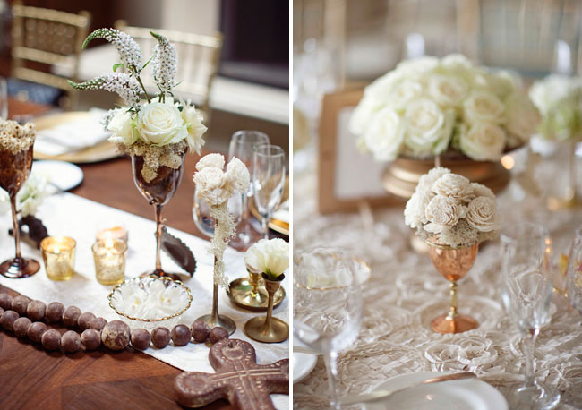 balsa wood flower centerpieces