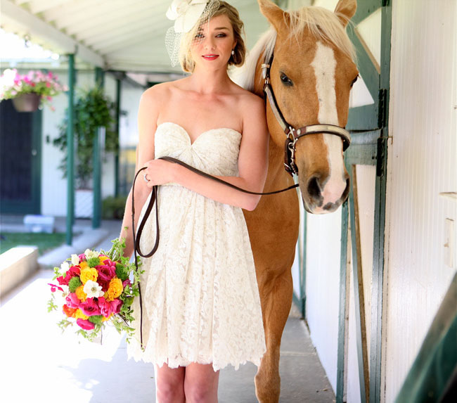 kentucky derby inspiration bridal hat