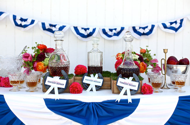 kentucky derby wedding bar