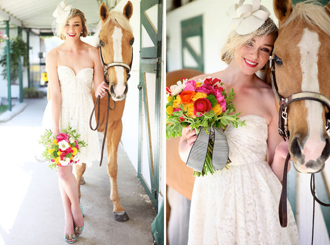 kentucky derby bridal inspiration