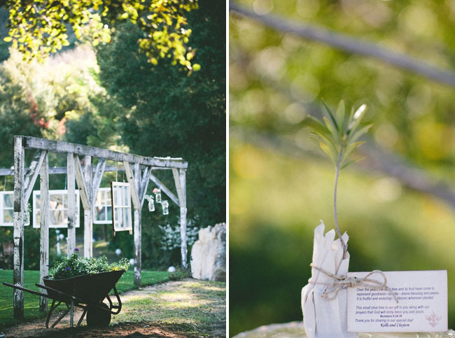 outdoor/indoor ceremony frames