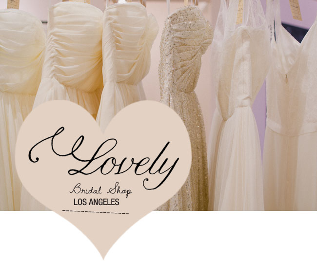 lovely bridal shop los angeles