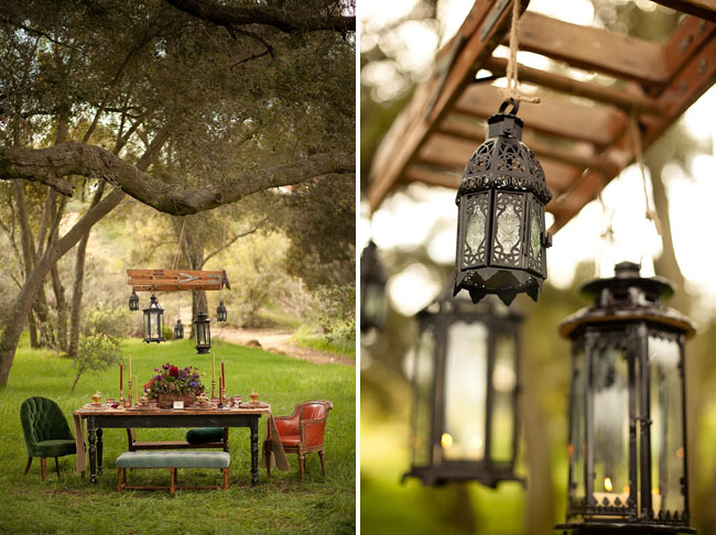 prince bride, hanging lanterns