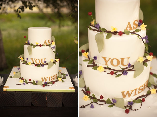 wedding cake, princess bride